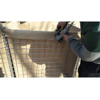 Buy cheap Sand Fileld HESCO Defensive Barriers / Geotextile Lined Military Gabion Barriers Filled HESCO Defensive Ba from wholesalers