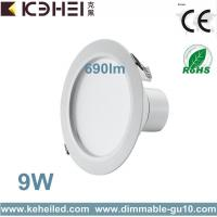 Buy cheap 9 Watt 690lm 130mm Cut Out Led Downlight With l30° Light For Display Case Accent from wholesalers