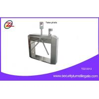 Buy cheap CCTV Camera Access Control Tripod Turnstile Gate With Mini Computer , Semi Automatic from wholesalers
