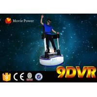 Buy cheap Virtual Reality Films Standing Up 9D VR Cinema Simulator / Machine White 99pcs from wholesalers