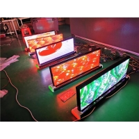 China high resolution outdoor high brightness P2.5 p3 p5 car roof mounted advertising led screen for cars on sale