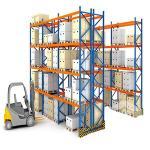 Buy cheap Custom Depth Material Handling Storage Rack System / Selective Pallet Rack from wholesalers