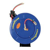 Buy cheap Goodyear Safety Series Dual Hose Spring Rewind Hose Reel for Oxy-Acetylene from wholesalers