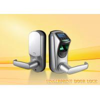 Buy cheap Intelligent zinc alloy security  biometric fingerprint door lock for home with CE / FCC from wholesalers
