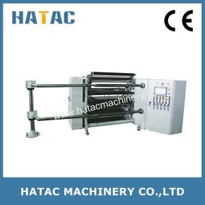China Automatic Kraft Paper Slitting Rewinding Machine,Autmoate Tape Slitter Rewinders,Aluminum Foil Slitters on sale