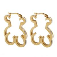 Buy cheap Women Gold Plated Stainless Steel Earrings Touch Love Costume Jewelry Earrings from wholesalers