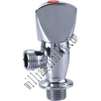 Buy cheap Chrome Plated Brass Angle Valve with Zinc Alloy Handle from wholesalers