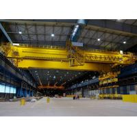 Buy cheap 25 Ton Double Girder Overhead Crane Lifting Equipment Warehouse Optional Color from wholesalers