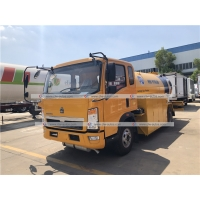 Buy cheap Sinotruk HOWO 8000liters 8cbm LPG Bobtail Truck 3ton 4ton Road Tanker LPG Gas Delivery Truck from wholesalers