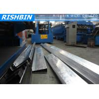 Frigate Structural Steel Metal C / Z / U Purlin Roll Forming Machine High speed Manufactures