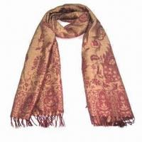 """Buy cheap Cashmere-like Scarf, Customized Specifications are Accepted, Measuring 2.23""""x5.9 from wholesalers"""