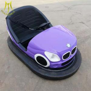 China Hansel battery operated go cart amusement rides fiberglass body bumper car on sale