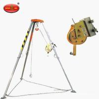 Buy cheap Mini Rescue tripod with Automatic brake device and Electric winch from wholesalers