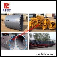 Buy cheap Bored pile drilling tools rock drilling buckets drilling auger core barrel from wholesalers