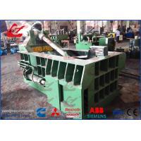Aluminum Sheets Scrap Metal Baler Compactor With 125 Ton Press force