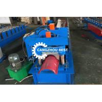 China Color Steel Brick&Roman Tile Roll Top Ridge Cap Roll Froming Machine on sale