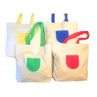 Buy cheap Canvas Tote Shoulder Bags Reusable Beach Bags , Grocery And Shopping Bags from wholesalers