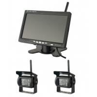 Buy cheap 400cd/m2 Brightness Vehicle Reversing Systems 1024x600 Wireless Monitor Camera from wholesalers