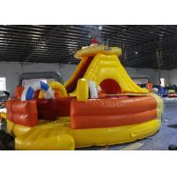 Buy cheap Light Colorblow Up Jump House , Kids Bouncy Castle With Slide Combo Tunnel from wholesalers