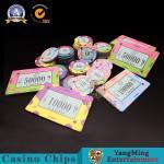 Buy cheap Custom Gambling Casino Poker Chips High - Density Ceramic Code Environmental Protection from wholesalers
