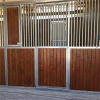 Buy cheap Customized front panel wooden horse stable bamboo material horse stall from wholesalers
