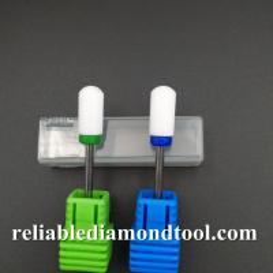 Callus Clean / Foot Care White Nail File Drill Bit , Head Blade Diameter 13MM Manufactures