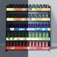 Buy cheap Professional Lighted Shelf Display Modular Design Hook Type Installation Support from wholesalers