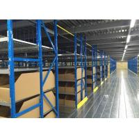 China High Capacity Mezzanine Floor Racking System Multi Level For Small Goods on sale