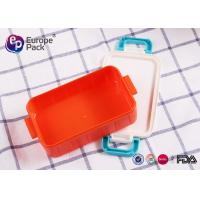China Eco Friendly Kids Plastic Luch Boxes on sale