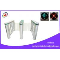 Full Automatic speed gate turnstile Optical Swing Electronic Pedestrian Turnstile Gate Manufactures