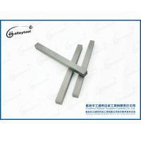 Buy cheap Wood Cutter Tungsten Carbide Square Bars With Rough Grinding Surface from wholesalers