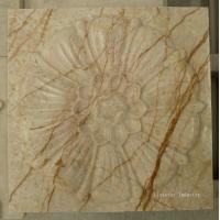 Wholesale Natural Sofita Beige 3d marble wall art interior design from china suppliers