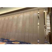 Wholesale High Acoustic Fabric Finished Sliding Partition Wall For Space Division from china suppliers