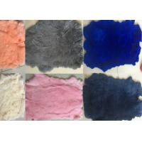 Buy cheap SGS Real Tanned Rex Rabbit Skin With 2-2.8cm Hair Length Winter Design from wholesalers