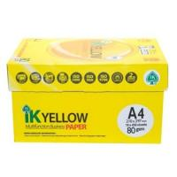 Buy cheap IK Yellow copy Paper A4 80gsm/75gsm/70gsm from wholesalers