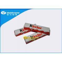 Wholesale Optimum Flatness Chocolate Foil Paper Wrappers For Chocolate Bar 1 - 10 Colors Printing from china suppliers