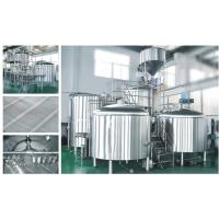 Stainless Steel 304 / 316L Beer Brewery Brewing Brew Fermenter Tanks Manufactures