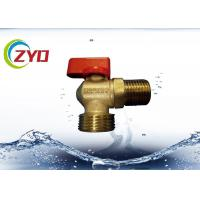 Buy cheap M1 2 M3 4 Nickel Plated Plumbing Angle Valve, Level Side Handle Brass Water Valve from wholesalers