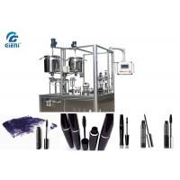 Buy cheap 15L Material Tank Mascara Filling Machine Heating Function With 24~30pcs/Min Capacity from wholesalers