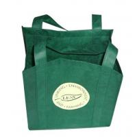 Buy cheap Reusable Non Woven Carry Bags Promotional Gift Totes in Green Purple from wholesalers