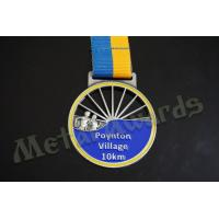 Wholesale Village 10k Finisher Medals , Custom Diecast Medals For Running Events from china suppliers