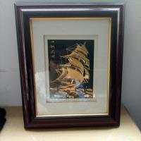 Buy cheap Cherry Plastic beautiful photo frames Chinese picture frame interior design picture frames from wholesalers
