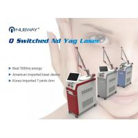 Buy cheap Vertical High Power Q-switched Nd-yag Laser Tattoo Removal Machine / Skin Tag Birthmark Removal / Home Laser Mole Remove from wholesalers