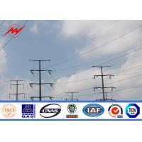 Buy cheap Water Proof Welded Galvanized Steel Pole For Electrical Distribution Line from wholesalers