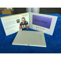 Buy cheap Custom printed designs lcd display cards 7'' lcd screen video brochure video mailer video postcard video marketing book from wholesalers
