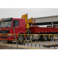 Buy cheap Commercial Knuckle Boom Truck Crane , 6300kg Lifting Weight from wholesalers