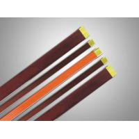 Class 22 CTC Flat Enamelled Copper Wire Red / Purple For Notebook Coil