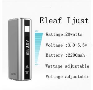 HKDA New product 2200mah vv e cigarette wholesale eleaf ismoka istick vw mod 2014 eleaf istick 20w Manufactures
