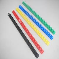 Buy cheap Comb Shape Plastic Binder Ring Clip For Binding from wholesalers