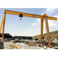 Buy cheap Electric Hoist 15 Ton Gantry Crane Single Beam For Marble Slabs Stone Factory from wholesalers